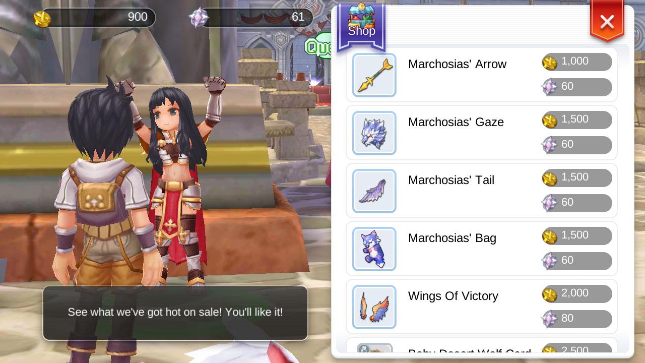 Fighter Coins and Marchosias - Ragnarok Mobile - 1gamerdash