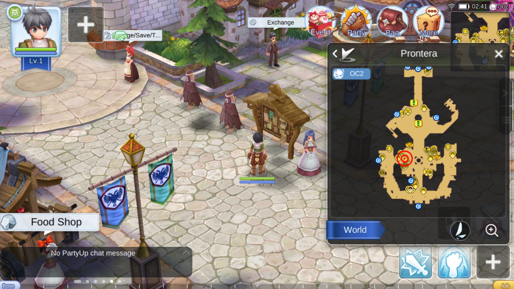 ragnarok mobile mission board prontera