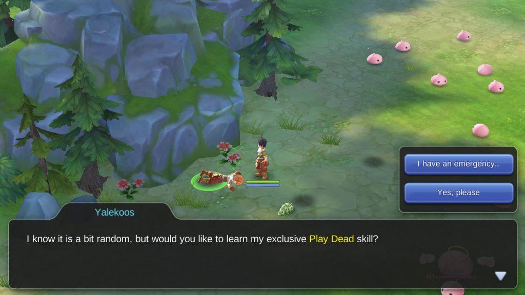 play dead ragnarok mobile