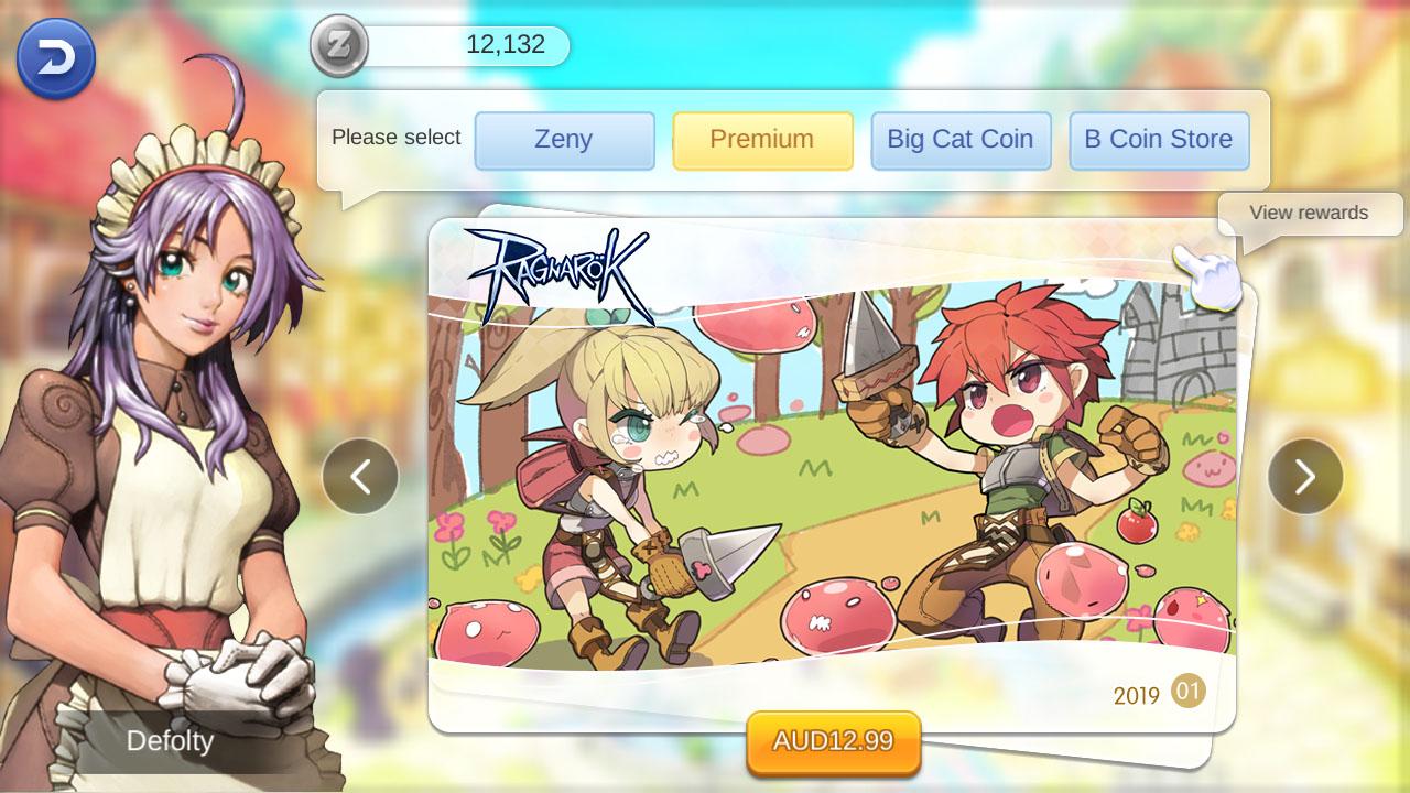 ragnarok mobile monthly premium