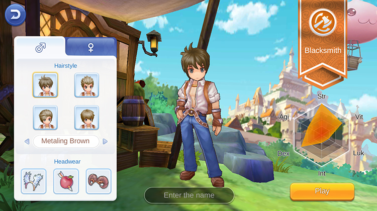 ragnarok mobile blacksmith