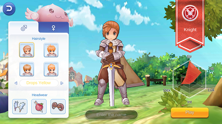 ragnarok mobile knight