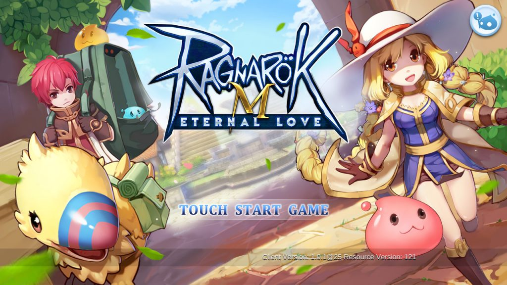 ragnarok mobile start screen
