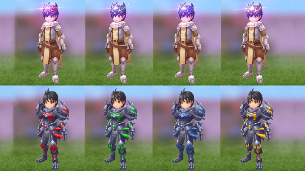 ragnarok mobile costume gacha dark knight set