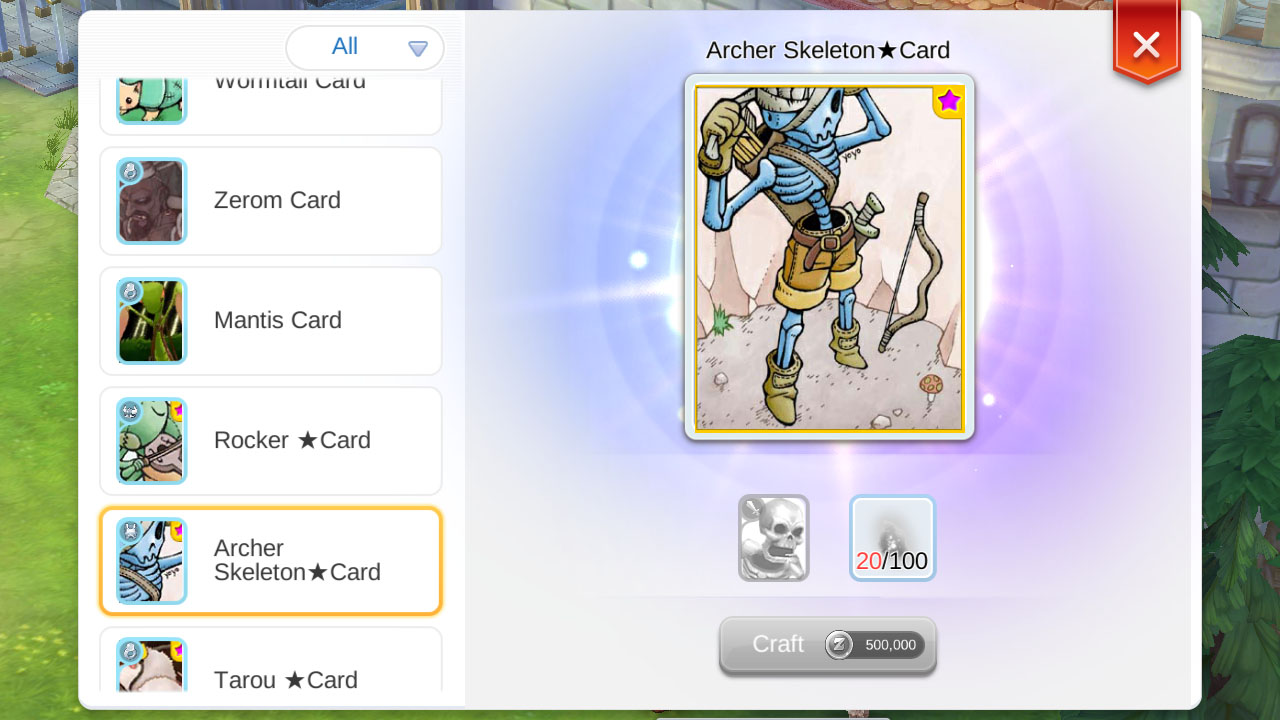 card price analysis craftable cards  ragnarok mobile