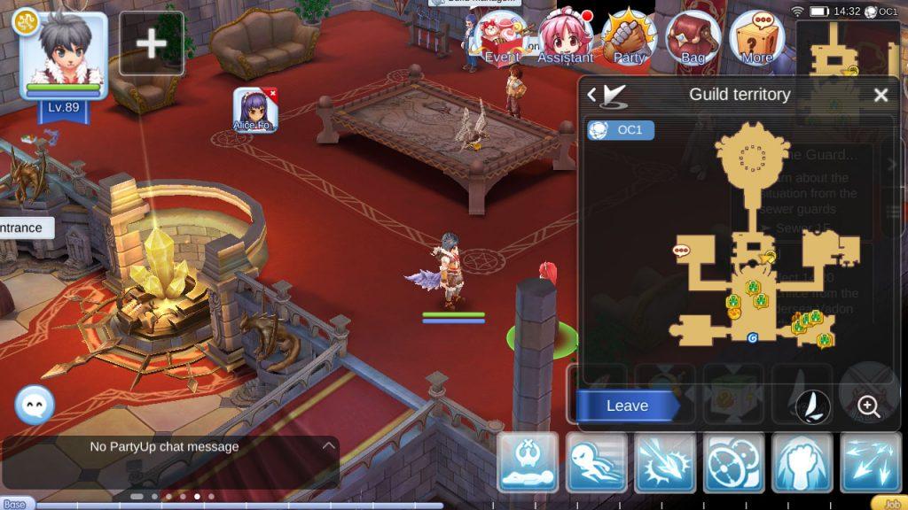 ragnarok mobile job breakthrough npc guild hall
