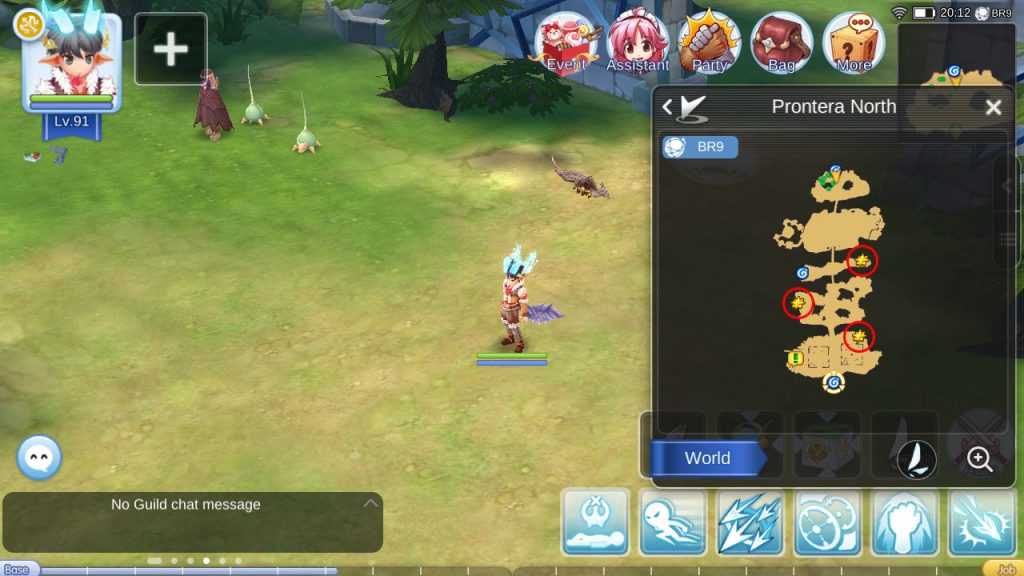 ragnarok mobile heart quest of wormtail prontera north