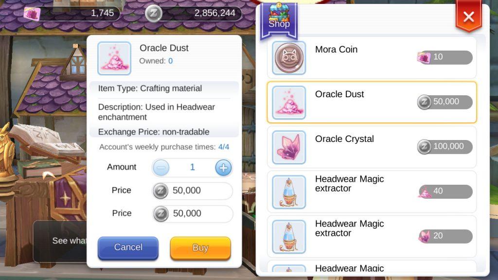 ragnarok mobile oracle dust