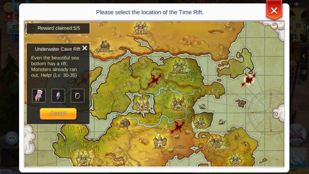 ragnarok mobile rift locations