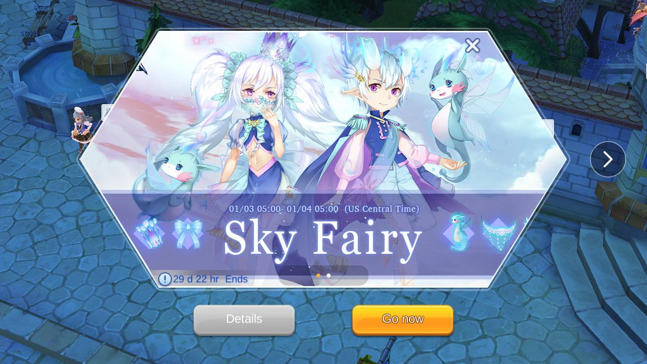 ragnarok mobile sky fairy event