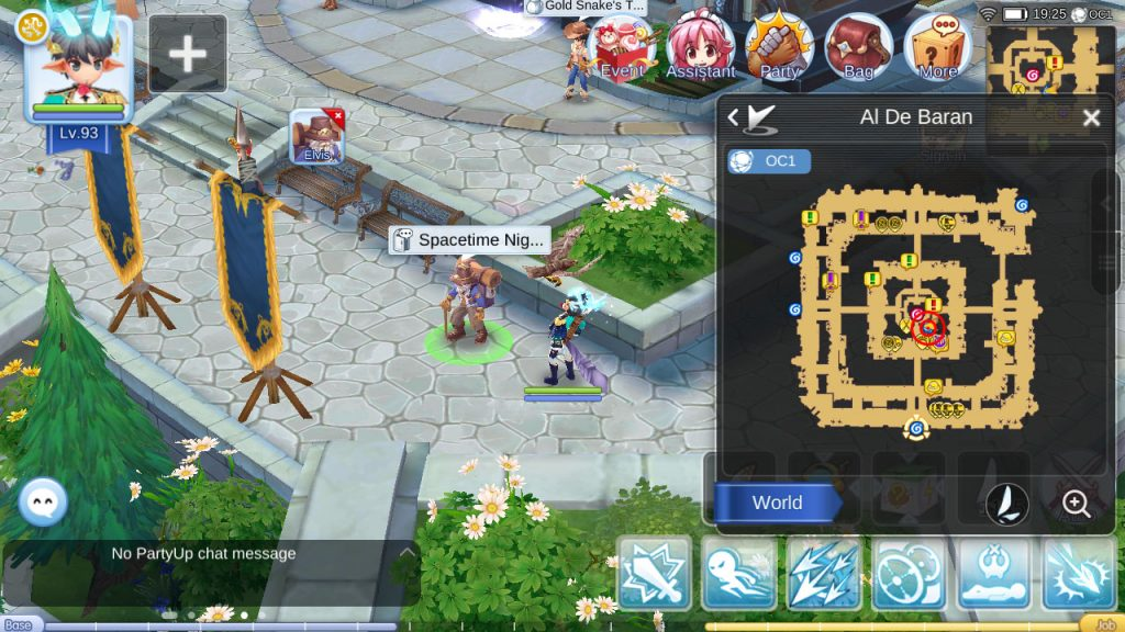 ragnarok mobile space time rift npc