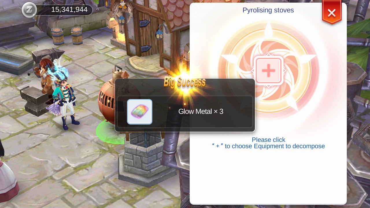 ragnarok mobile recycle restore equipment
