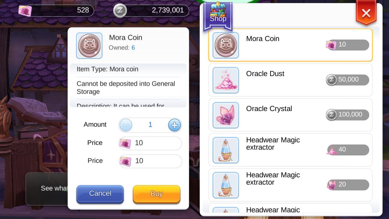 ragnarok mobile mora coin