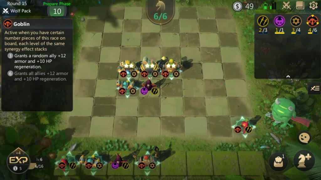 auto chess goblin mech mid game