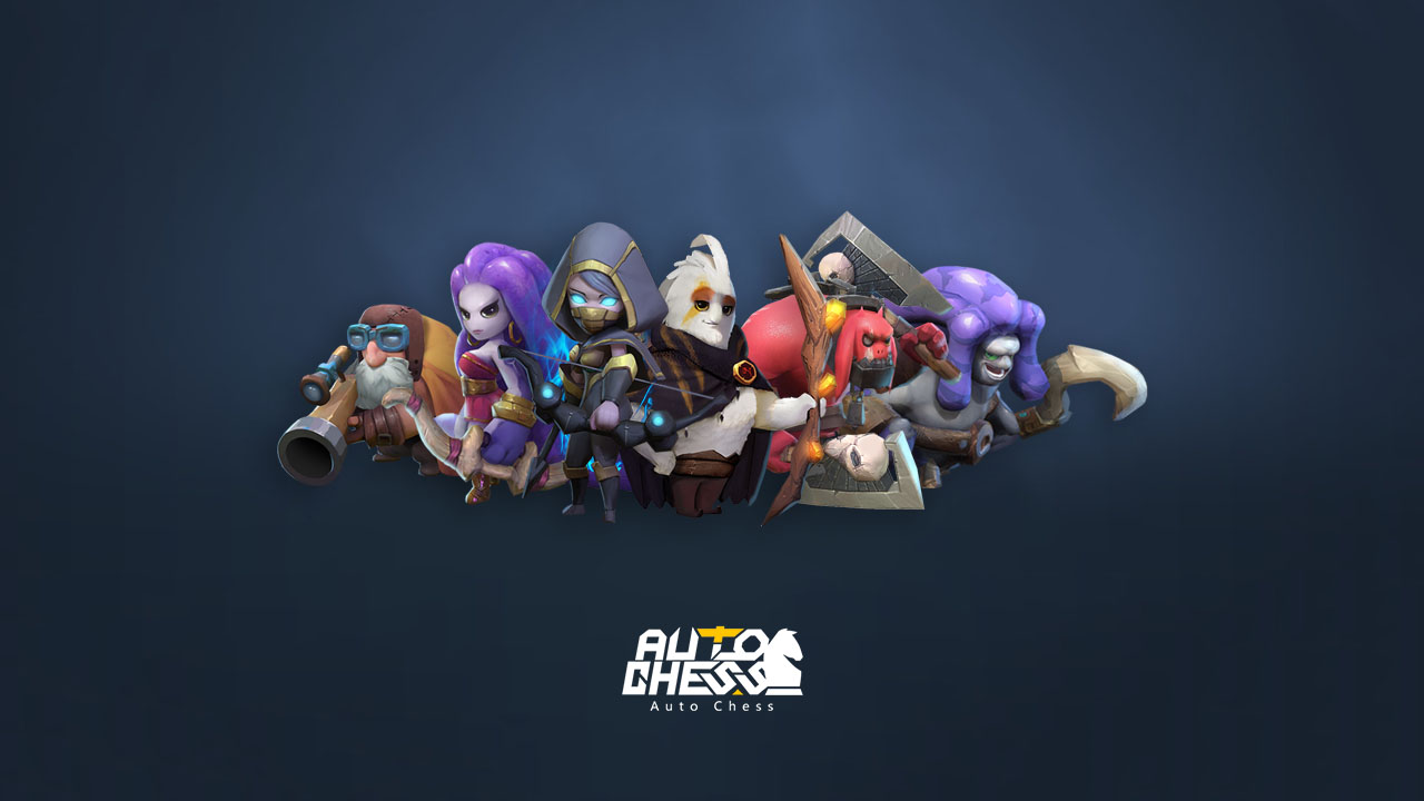 auto chess mobile hunters