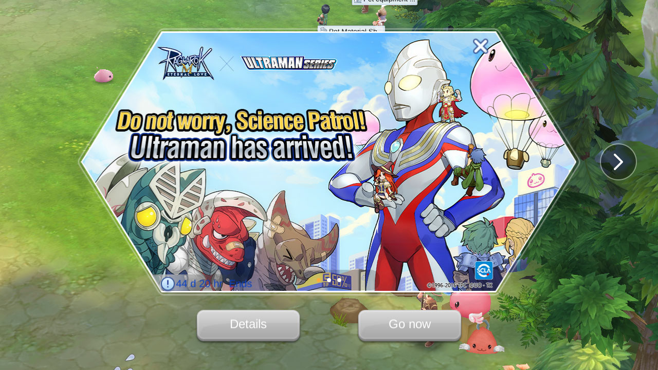 Ultraman Crossover Event - Ragnarok Mobile - 1gamerdash